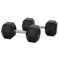 Newton Fitness Haltères Hexagone 22.5 kg Set