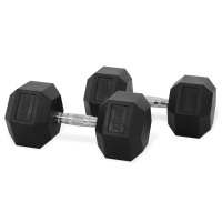 Newton Fitness Haltères Hexagone 27.5 kg Set
