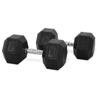 Newton Fitness Haltères Hexagone 30 kg Set