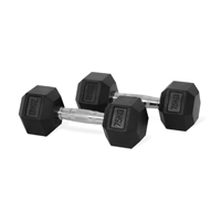 Newton Fitness Haltères Hexagone 7.5kg Set