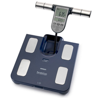 Omron HBF-511 Body Fat Monitor Azul