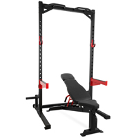 Pivot Fitness Combi Set HR3240 Heavy Duty ECON Rack en HB3130