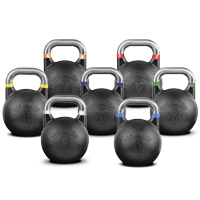 Pivot Fitness Competition Steel Kettlebell Complete Combi Set