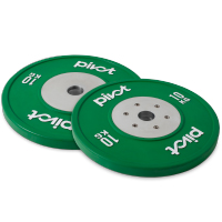 Pivot Fitness Elite Competition Bumper Plate Set 10kg