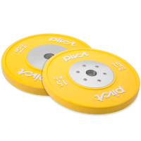 Pivot Fitness Elite Competition Bumper Plate Set 15kg