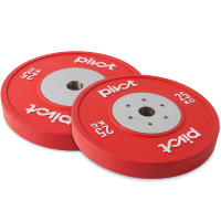 Pivot Fitness Elite Competition Bumper Plate Set 25kg