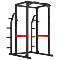 Pivot Fitness HR3262 Heavy Duty Cage à Squat