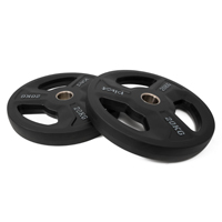 Pivot Fitness Olympic Gummi Plate 20kg Set