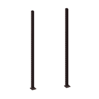 3x Pivot Fitness PM101-275 Posts 275cm