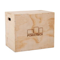 Pivot Fitness PM176 Wooden Plyo Box