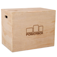 Pivot Fitness PM178 Wooden Plyo Box