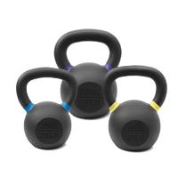 Pivot Fitness Premium Cast Iron Kettlebell Combi Set 48 kg