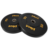Pivot Fitness Pro Training Bumper Plates 15kg Set