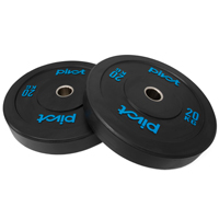 Pivot Fitness Pro Training Bumper Plates 20 kg Set