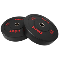 Pivot Fitness Pro Training Bumper Plates 25kg Set