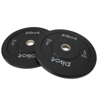 Pivot Fitness Pro Training Bumper Plates 5 kg Set