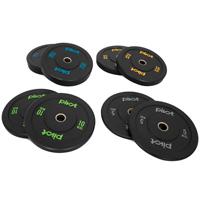 Pivot Fitness Pro Training Bumper Plates Kombi-Set 100 kg