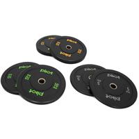 Pivot Fitness Pro Training Bumper Plates Kombi-Set 60 kg