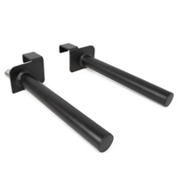 Pivot Fitness XA6732 Heavy Duty Dip Bar Set Commerciale