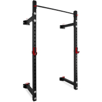 Pivot Fitness XR6226 Commercial Heavy Duty Foldable Wall Rack