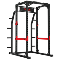 Pivot Fitness XR6255 Commercial Heavy Duty Power Rack