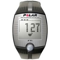 Polar FT1 Hartslagmeter Zwart