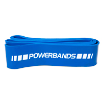 PowerMark PM220 Strength Band Medium Bleu 65mm