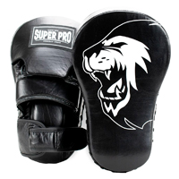 Super Pro Focus Mitt Leather Pads