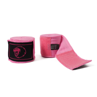 Super Pro Hand Wraps 450cm Rose