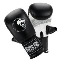 Super Pro Bag Gloves Victor Black/White L