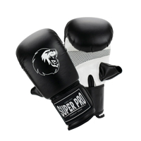 Super Pro Bag Gloves Victor Black/White XS