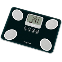 Tanita BC-731 Black Compact Glass Body Composition Monitor
