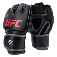 UFC Contender MMA Gloves Black/Red S/M